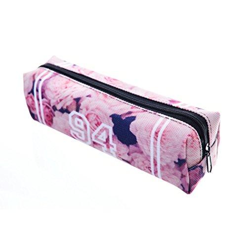 trousse-scolaire-sac-a-crayon-trousse-de-toilette-trousse-en-cuir-plumier-organisateur-vintage-roses
