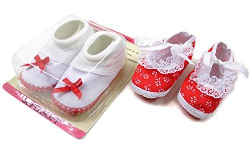 2er Set Babyschuhe Gr. 16-17 ca.10cm 2 Paar Krabbelschuhe Lauflerner Baby Schuhe BS6085-DS12