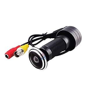 TEKMAGIC 420TVL Porte Judas Caméra Vidéo Caméra de Sécurité avec 1,78 mm Lentille