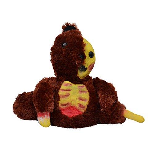 Zoelibat 84080060.004 - Horror Teddy Zombie Teddybär zum Kuscheln, Dunkelbraun (Ted Teddy Bär Kostüm)