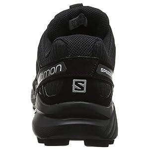 Salomon Speedcross 4, Zapatillas de Trail Running para Hombre, Negro Black Metallic, 42 EU