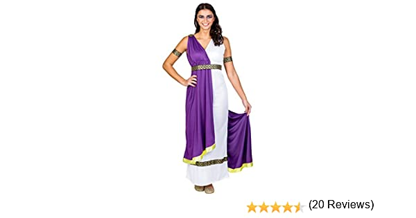 Costume ROMAINE Impératrice-Taille S à XXL Romains Costume romaine déguisement