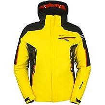 Granrisa Sph-Chaqueta de Esquí Para Hombre Giallo/Nero/Arancione Talla:52
