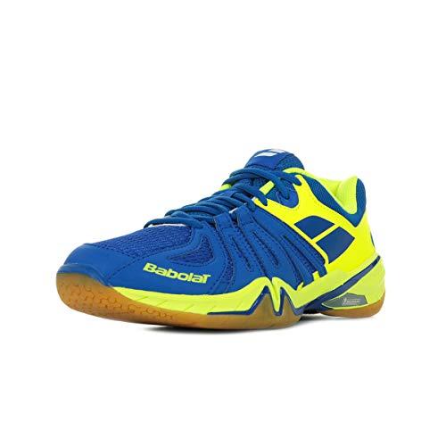 Babolat Shadow Spirit Badmintonschuhe Blau/Neon, Schuhgröße:EUR 42.5, Farbe:Blau
