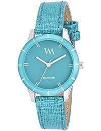 Watch Me Analogue Blue Dial Women'S Watch (Wmal-212New)