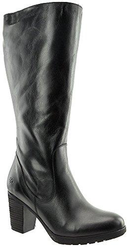 JJ Footwear Damen Stiefel Leder Potton M/L Schwarz Street