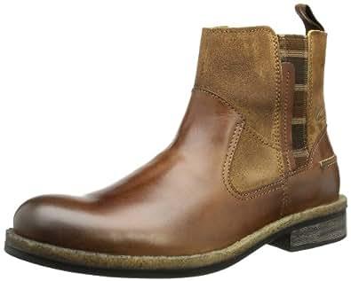 camel active Desierto 12 368.12.01, Herren Chelsea Boots, Braun (nut), EU 43 (UK 9)