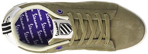 Vespa Footwear Unisex-erwachsene Freccia Low-top Verde (verde Militare)