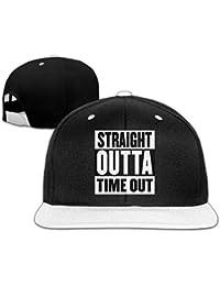 b4d03190af1b6 Gxdchfj Fuera de Juego Outta Time out Diseño Sombreros Snapback Gorras de  béisbol Hip ...
