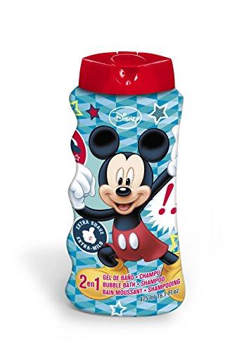 Disney Mickey Mouse Badeschaum und Shampoo, 1er Pack (1 x 475 g)