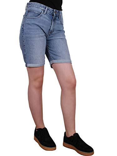 Lee Damen Jeans Short Long Boyfriend -Blau - Salina, Größe:W 24, Farbe:Salina (RDNI)