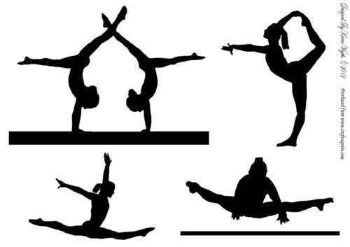 silhouettes-par-karen-wyeth-gymnaste