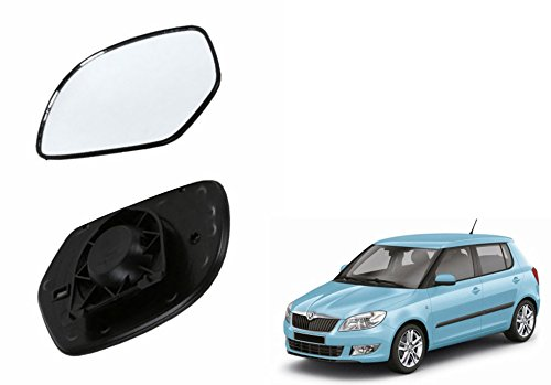 speedwav car rear view side mirror glass right-skoda fabia Speedwav Car Rear View Side Mirror Glass RIGHT-Skoda Fabia 41dtoLQdW5L
