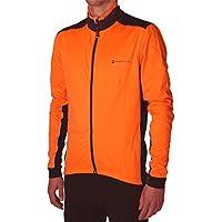 More Mile Piu Miglia Bari, colore: arancione fluorescente Soft Shell-Giacca