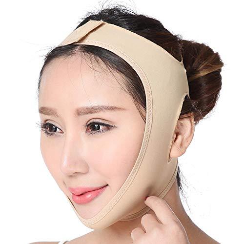 FOONEE Band Zum Abnehmen, Atmungsaktiv V Line Lifting Tape Körperlich, Doppelkinn-Reduzierer Zur Gesichtsstraffung, Gesichtsmassage-Tool (5 Größe Optional)