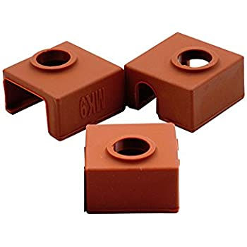 CCTREE 15PCS 3D Printer Heating Block Cotton with Kapton Tape Hotend Nozzle Heat Insulation Cotton for Ultimaker//Makerbot//Creality CR-10