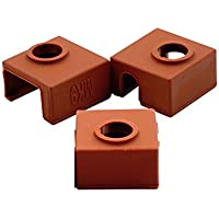 CCTREE 3D Printer Heater Block Silicone Cover MK7/MK8/MK9 Hotend For Creality CR-10,10S,S4,S5 Anet A8
