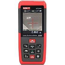 UNI-T Ut396a Laser Distance Mètre ruban de 80m numérique Télémètre laser Range Finder Trena Règle des Mesurer Outil de roulette