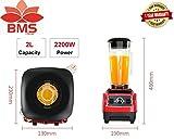 BMS Lifestyle 101HSB-BPA-Free Machine German Motor Technology Food Blender ABS Plastic 2200W Juicer