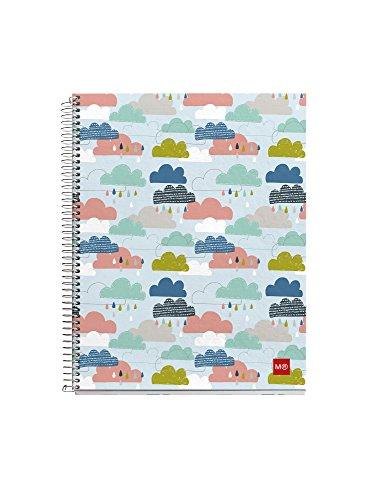 miquelrius-2483-quaderno-140-pagine-formato-a4-multicolore