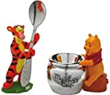 Disney Winnie the Pooh Silver Plated Egg Cup & Tigger Spoon Holder