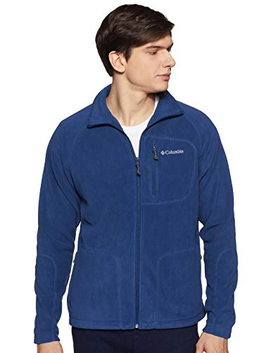 Columbia Fleece-sweatshirt (Columbia Herren Fast Trek II Fleece Jacket and Sweaters, Blau (Carbon), XXL)
