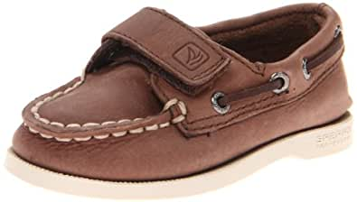 Sperry Boys A/O H&L Brown Boat Shoes CB43165 1 Child UK, 33 EU, 1.5 Child US
