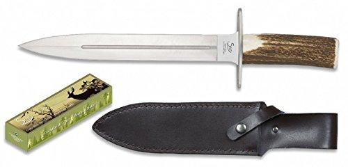 STEEL cuchillo Asta de Ciervo 440