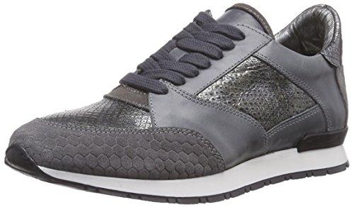HIP D1148, Low-Top Sneaker donna, Grigio (Grau (15PY)), 39