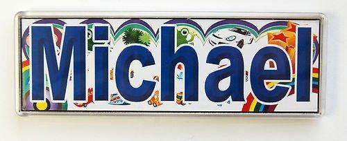 personalisierbar-kinderzimmer-namensschild-mit-magnet-fliesen-rahmen-michael
