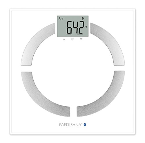 Medisana connect Körperanalysewaage BS 444, bis 180 kg, VitaDock+ App, weiß