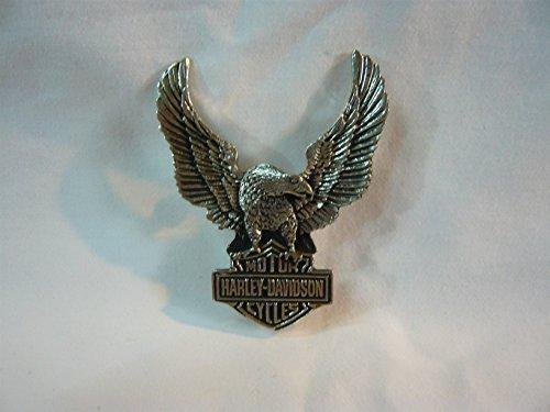 Preisvergleich Produktbild Artikel wird am nächsten Tag versand ! Harley Davidson pin 7x5,5 cm Rückseite mit 2 Schrauben.Shipping next day 4-6 day to England,France