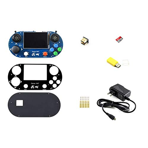 WENDi Accessories Pack for Raspberry Pi(no pi), Including Game Hat, Micro  SD Card, Power Adapter, etc