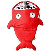 Longra ☂☂ ☂☂✈✈❤❤Infant Baby Boys Girls Tiburón Saco de Dormir Swaddle Swaddle Wrap Saco de Dormir Saco de Dormir