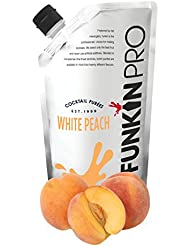 Funkin Pro White Peach Puree, 1 kg