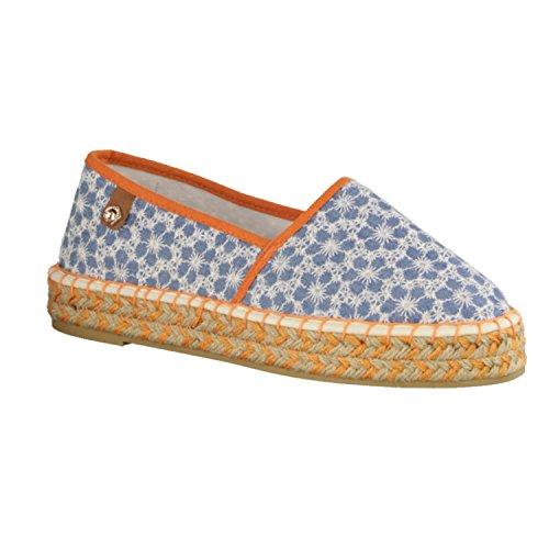 Tamaris  1-1-24602-28 821, Chaussures de ville à lacets pour femme Bleu