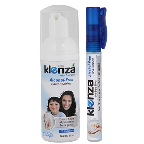 Klenza 8906011471766 Alcohol Free Cool Cologne Hand Sanitizer