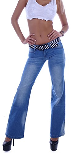 Style-Station - Jeans - Jeans boot cut - Donna Blu