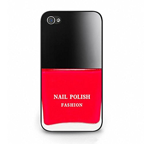 Nail Polish Iphone 4/4s Case,Fashionable Cosmetic Nail Polish Phone Case Cover for Iphone 4/4s Makeup Premium Color109d