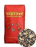 Supravit Kanarienfutter BASIS 25 kg - Hauptfutter für Kanarienvögel