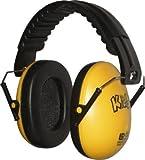 Edz Kidz Kinder Gehörschutz Kapselgehörschutz (Gelb)