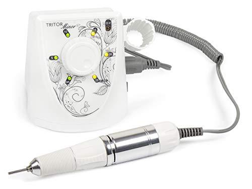 TRITOR Nagelfräser MINOR - Elektrische Nagel-Feile für Gel-Nägel - Fräser - Maniküre - Pediküre -