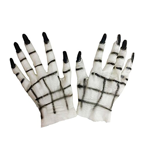 Bangle009Ausverkauf Halloween Horror Monster Teufel Vampir Ghost Hände Handschuhe Kostüm Cosplay Prop ()