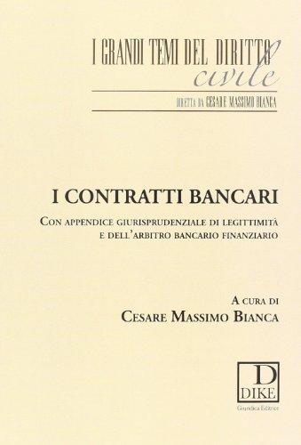 I contratti bancari