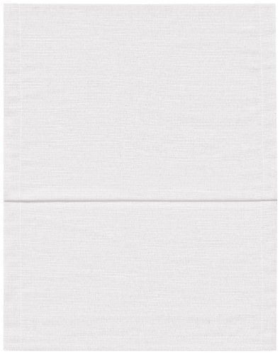 Magma Mantel Mantel fino 80x 80cm einfarbig en VERS. Colores, tejido, Weiß,...