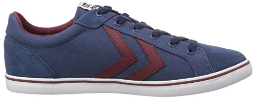 hummel DEUCE COURT SUMMER Unisex-Erwachsene Sneakers Blau (Majolica Blue 8566)