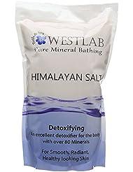 Westlab Himalayan Salt Sels de Bain Rose 2 kg