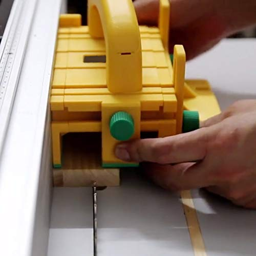 41du4rSlCiL - Bespick 3d Pulsador de Seguridad, Herramienta de Carpintería Pulsador para Madera de Plástico ABS