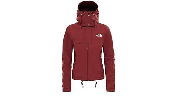 Jacket Cagoule Short Face North W VesteFemmeRougebarolo 8n0OXwPk