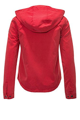 ONLY Damen Onlnew Skylar Parka Jacket Cc Otw Jester Red